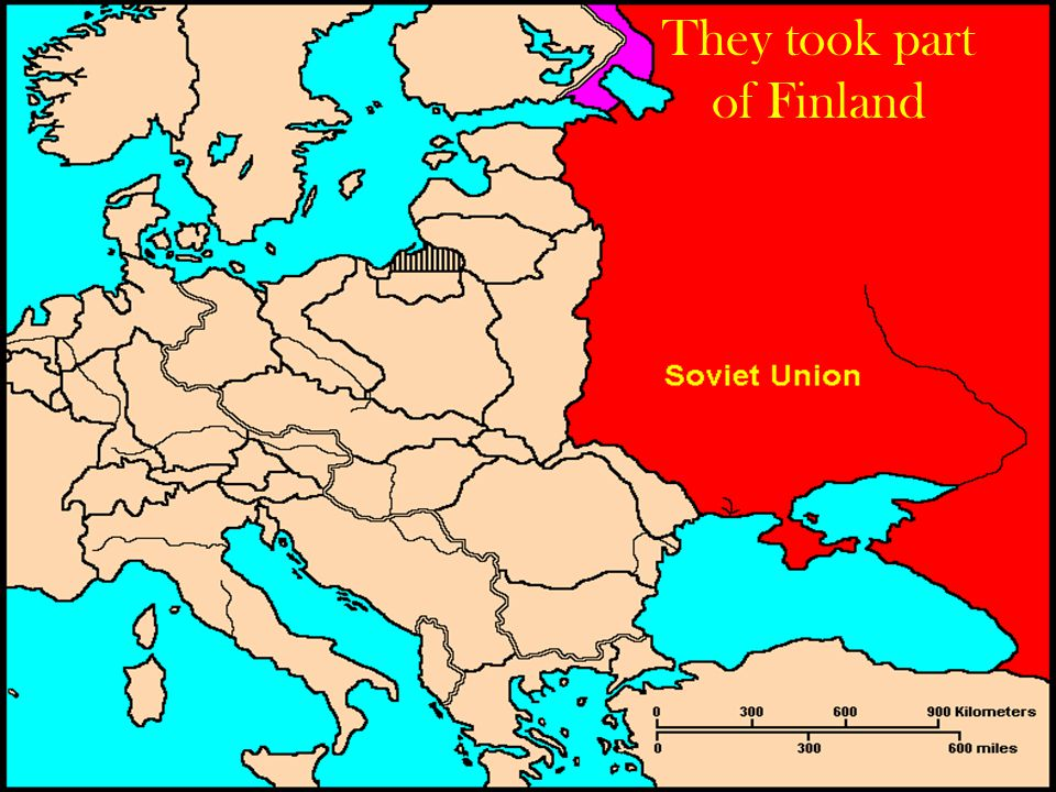 They took part of Finland