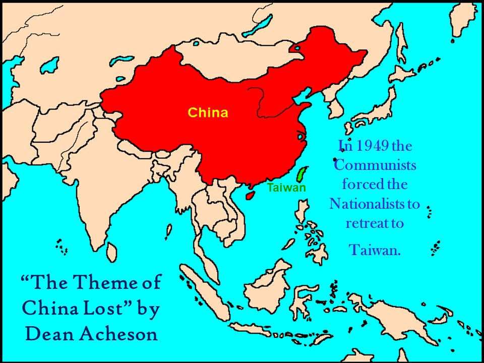 The Theme of China Lost by Dean Acheson