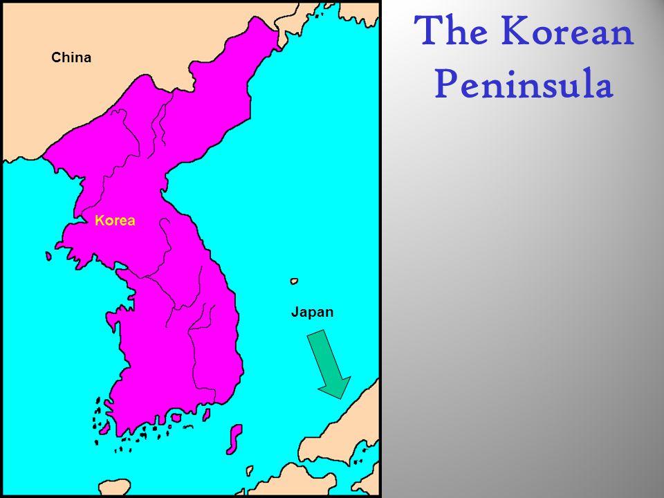 The Korean Peninsula China Japan