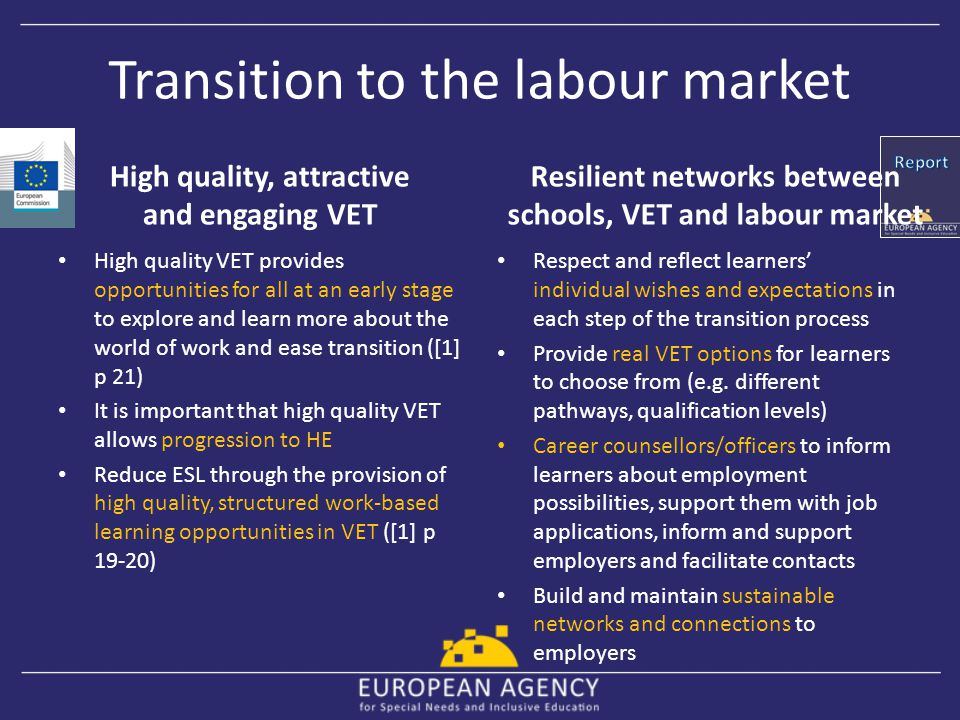 Transition to the labour market