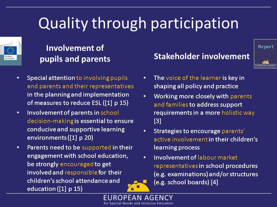 Quality through participation