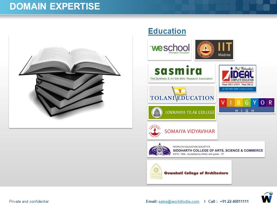 DOMAIN EXPERTISE Education