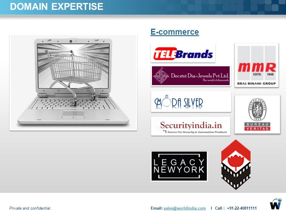 DOMAIN EXPERTISE E-commerce