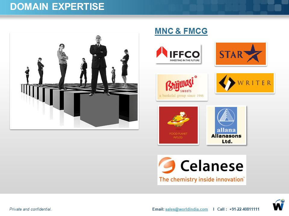 DOMAIN EXPERTISE MNC & FMCG