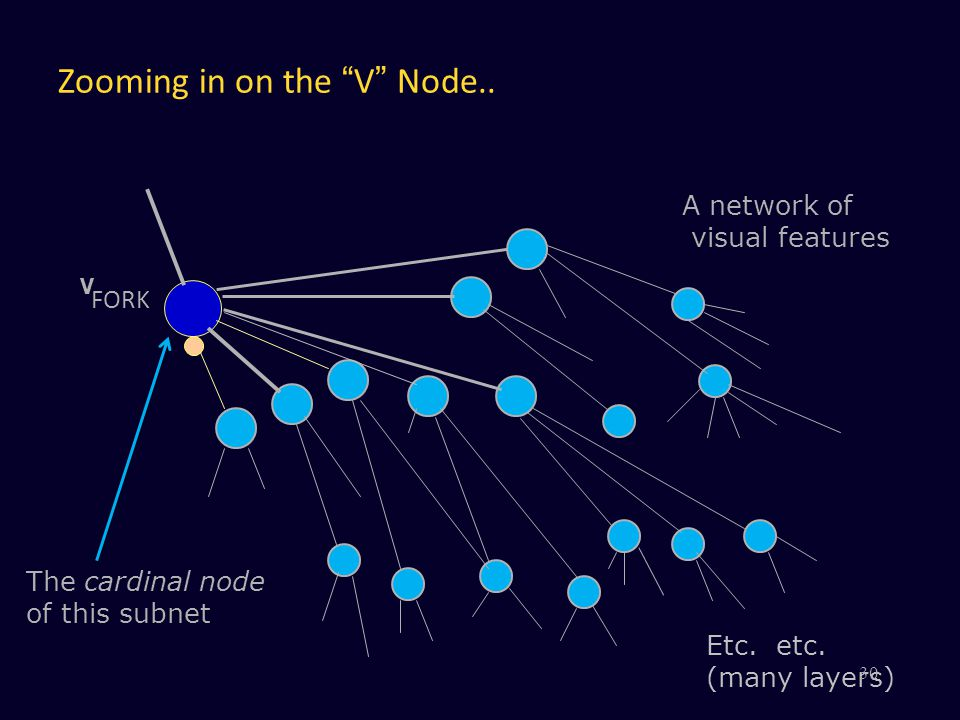 Zooming in on the V Node..