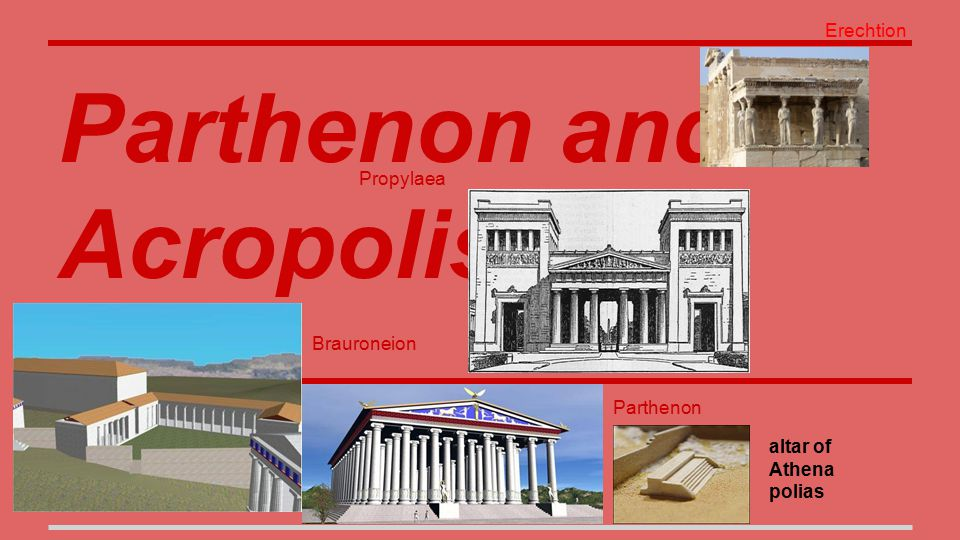 Parthenon and Acropolis