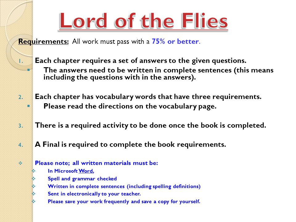 an analysis of chapter 3 of lord of the flies by william golding William golding lord of the flies is quite a rare and popular topic for  the lord of the flies - chapter 8  lord of the flies william golding's lord of the .