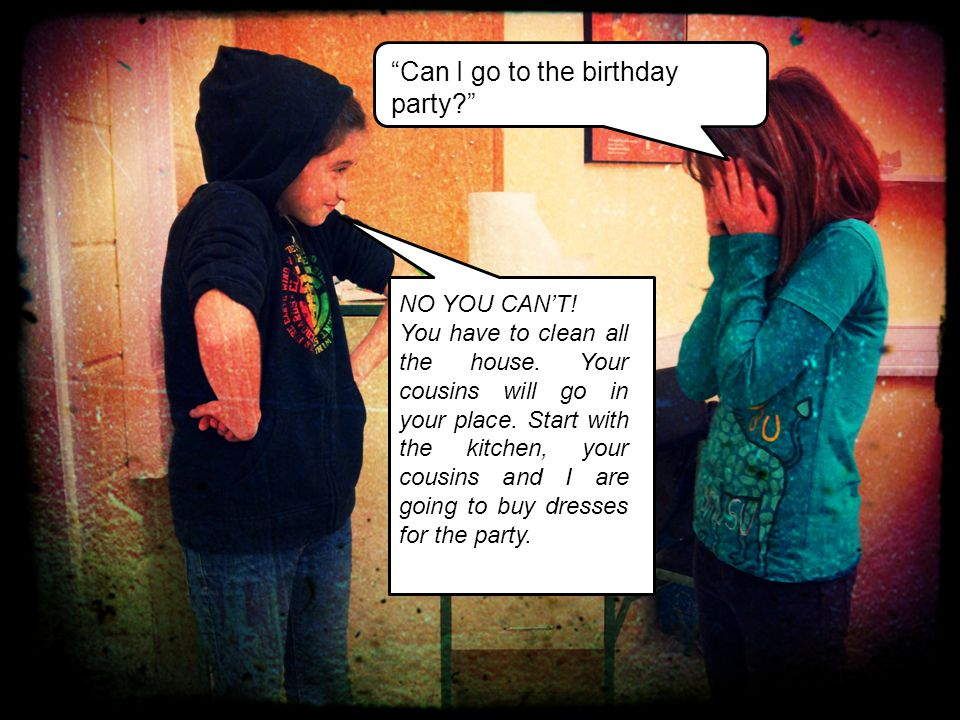 Can I go to the birthday party