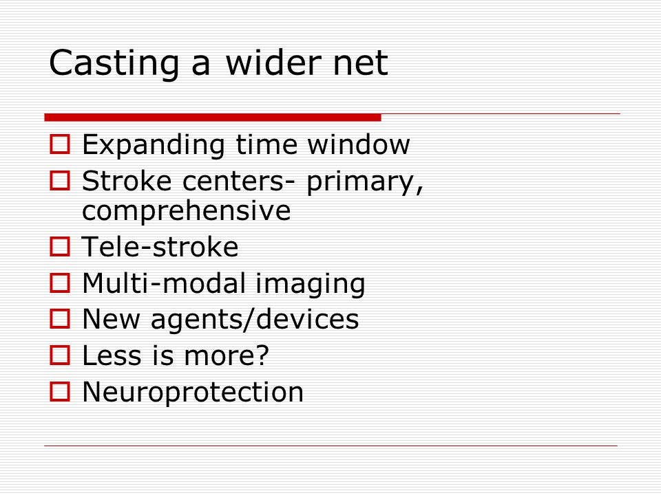 Casting a wider net Expanding time window