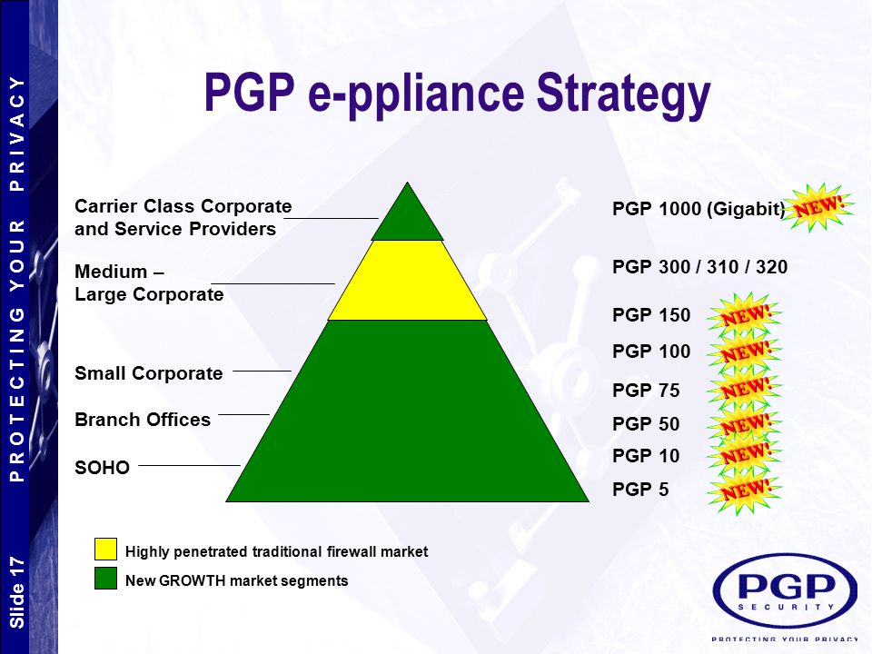 PGP e-ppliance Strategy