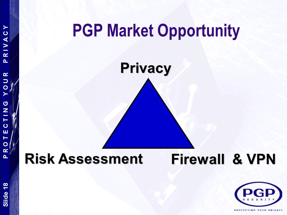 PGP Market Opportunity
