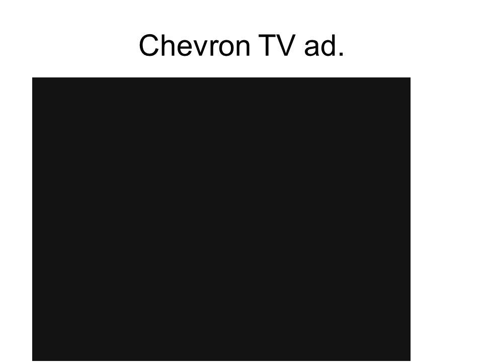 Chevron TV ad.