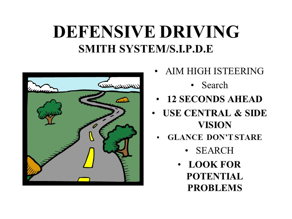 DEFENSIVE DRIVING SMITH SYSTEM/S.I.P.D.E