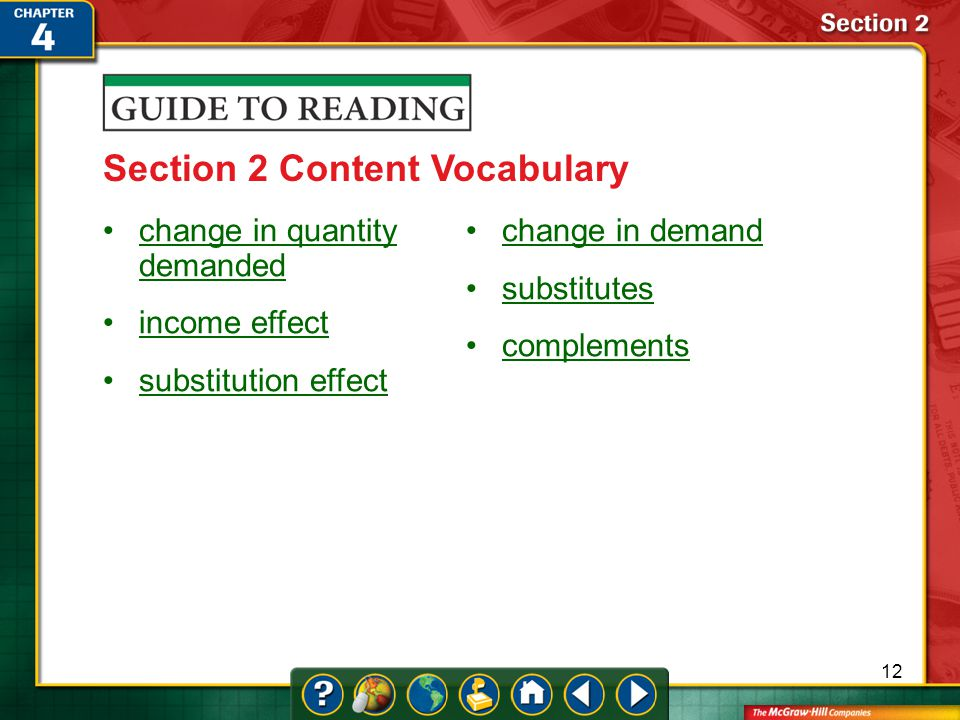 Section 2 Content Vocabulary