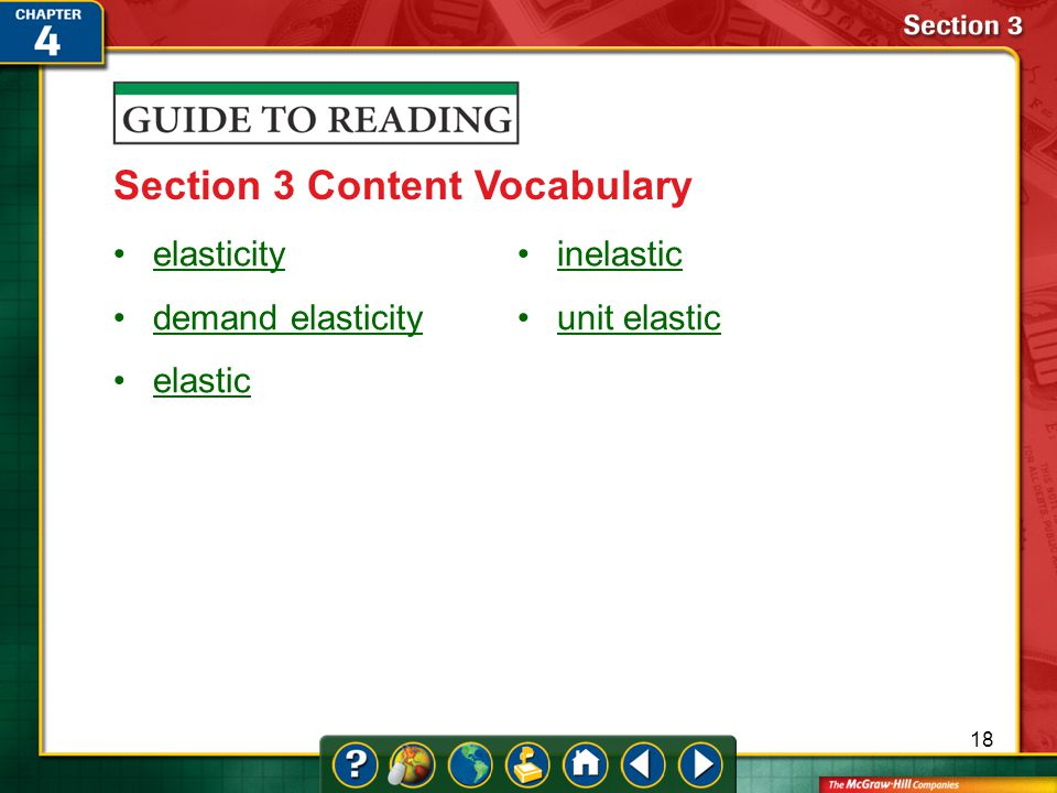 Section 3 Content Vocabulary