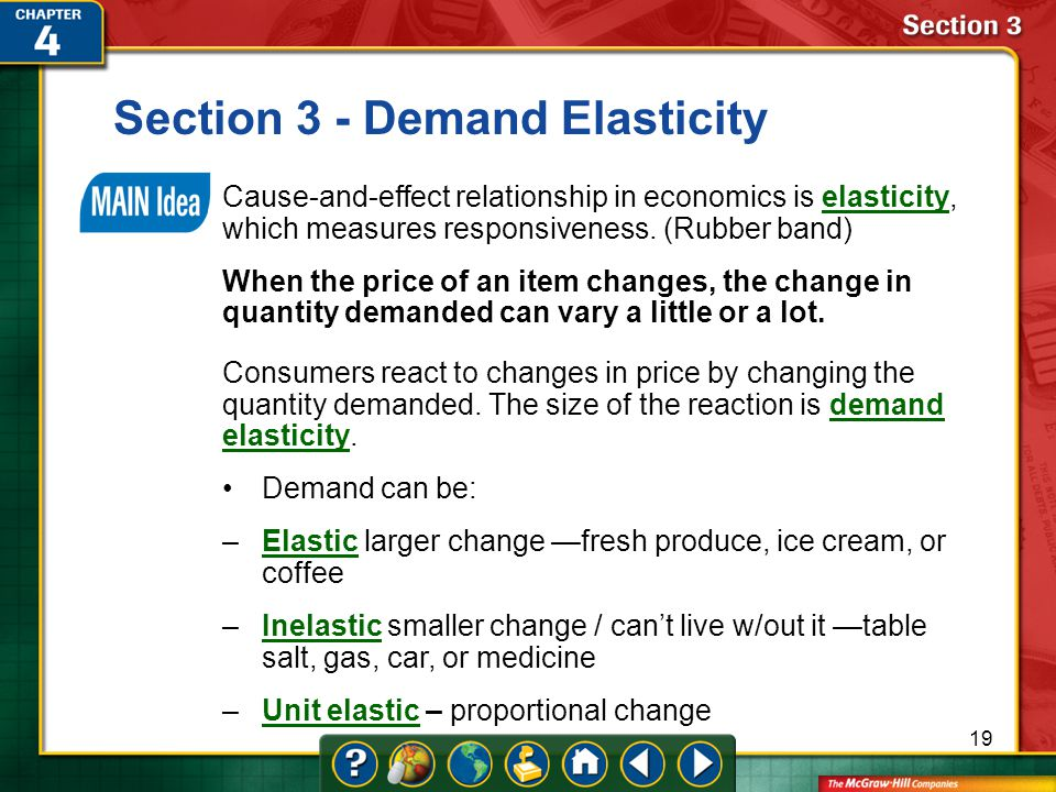 Section 3 - Demand Elasticity