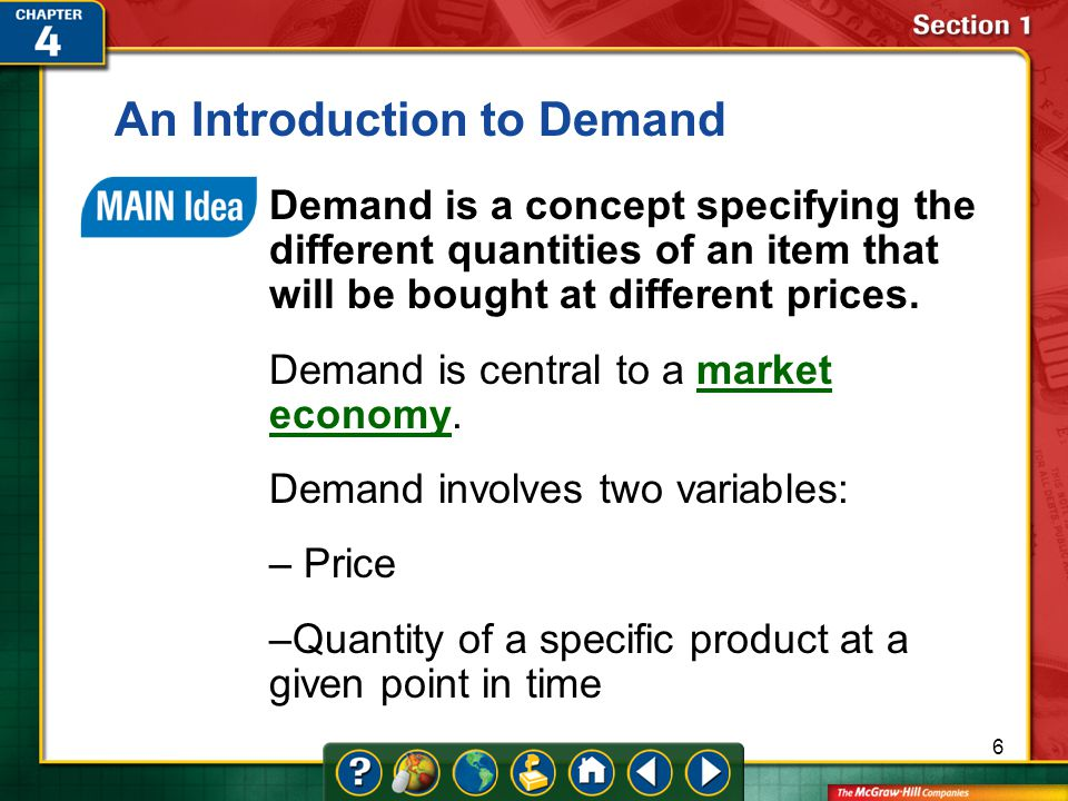 An Introduction to Demand