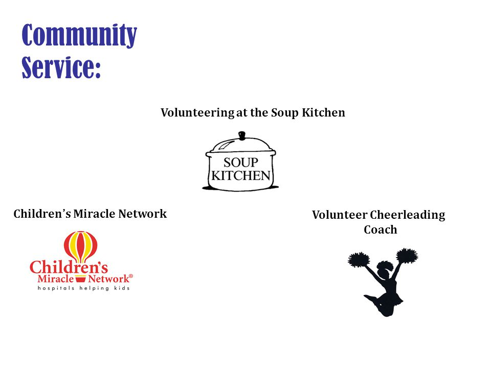 Community Service: Volunteering at the Soup Kitchen