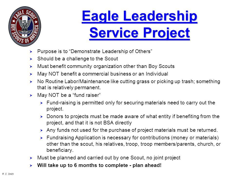 Eagle Leadership Service Project