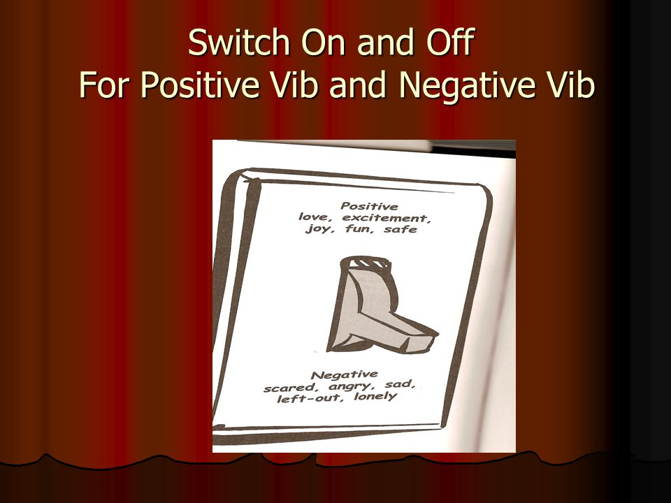 Switch On and Off For Positive Vib and Negative Vib