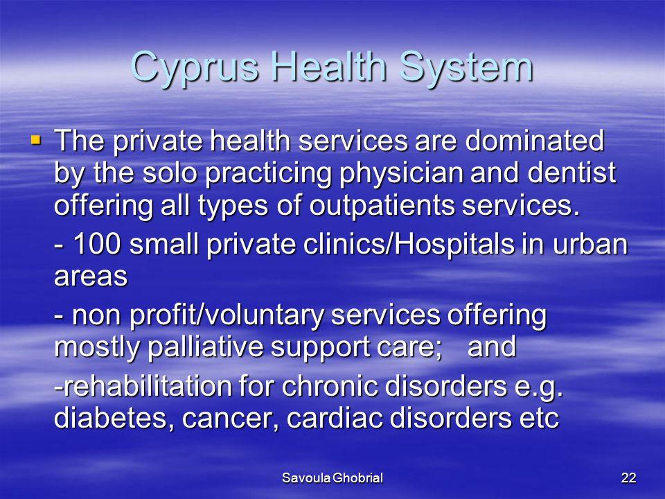 Cyprus Health System