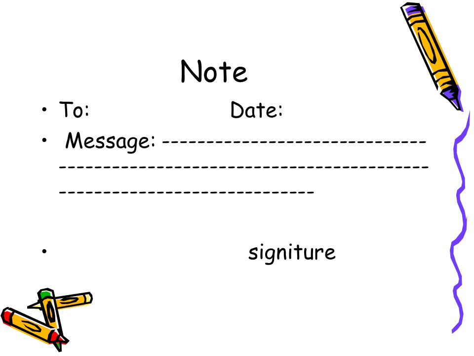 Note To: Date: Message: -----------------------------------------------------------------------------------------------------