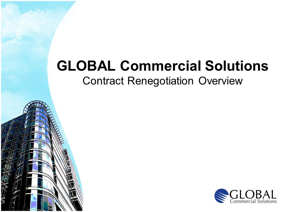 GLOBAL Commercial Solutions