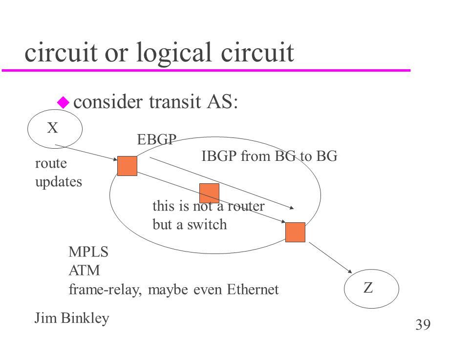 circuit or logical circuit