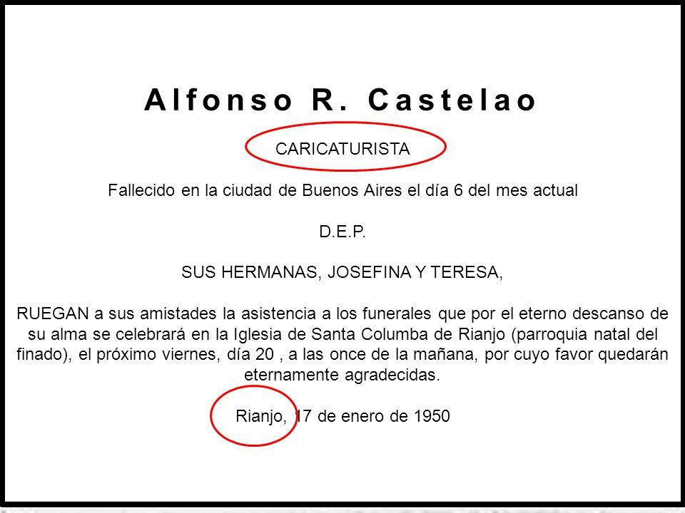 Ante a morte de Castelao