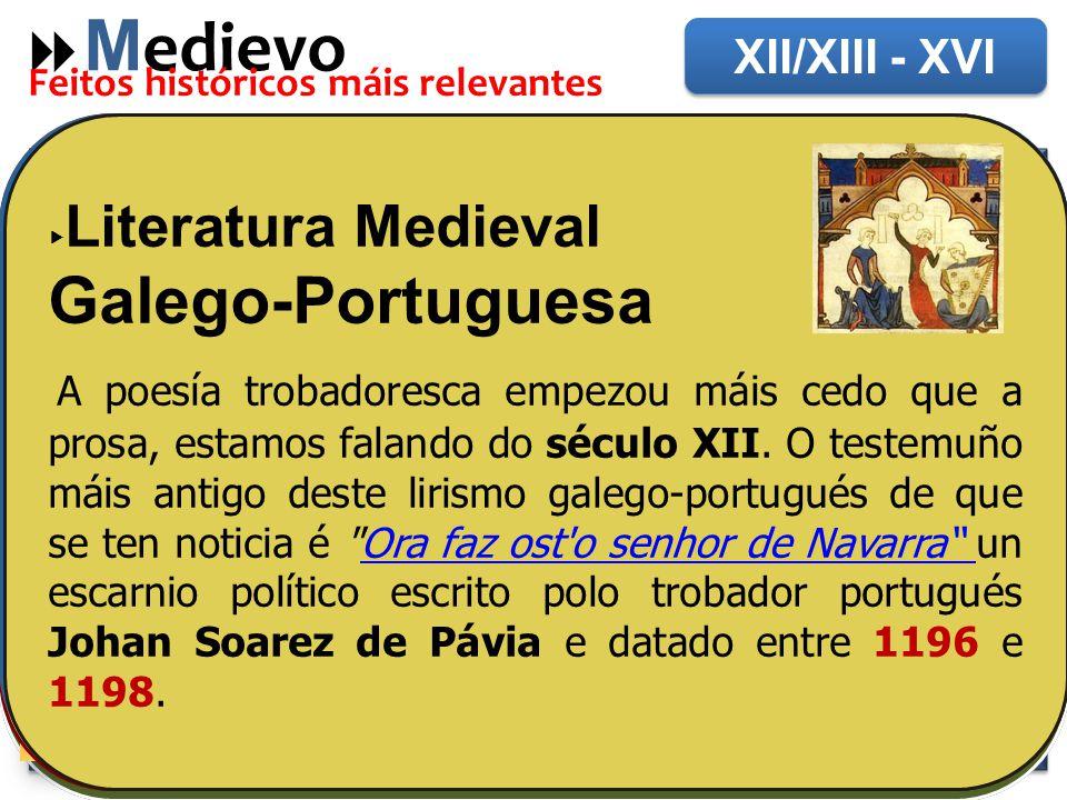 Medievo Santiago de Composela Galego-Portuguesa
