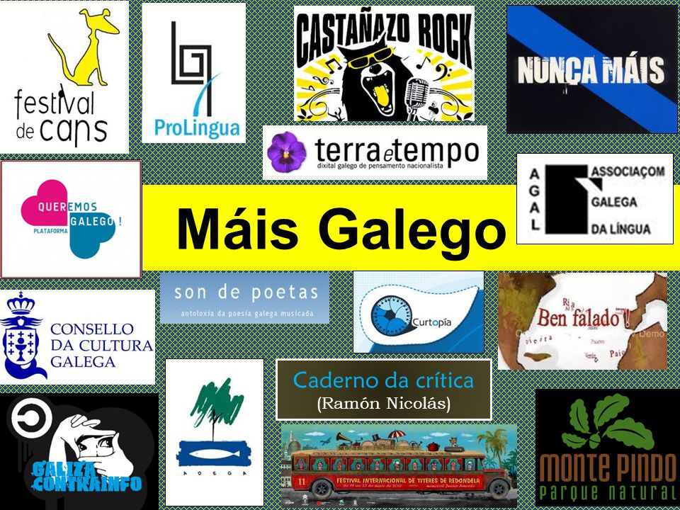 Máis Galego Caderno da crítica (Ramón Nicolás)