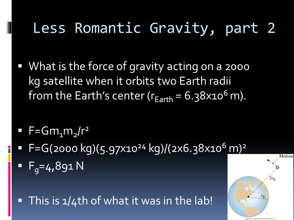 Less Romantic Gravity, part 2
