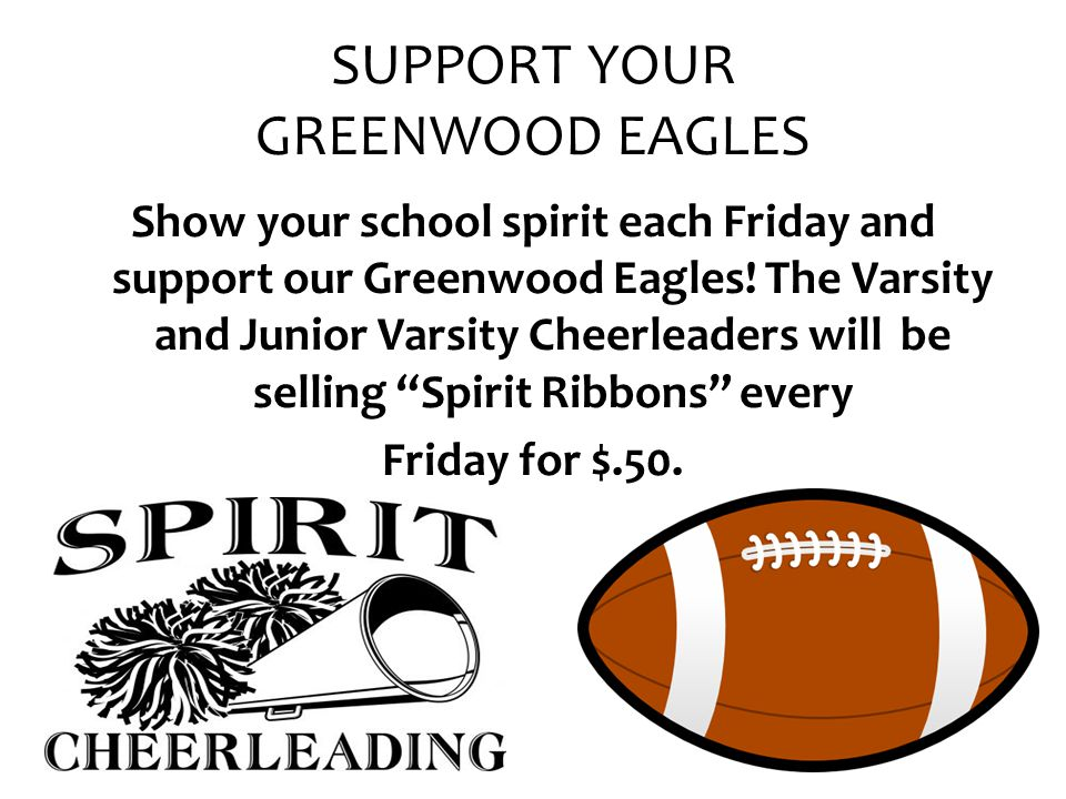 SUPPORT YOUR GREENWOOD EAGLES