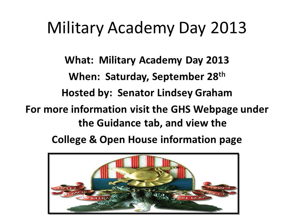 Military Academy Day 2013