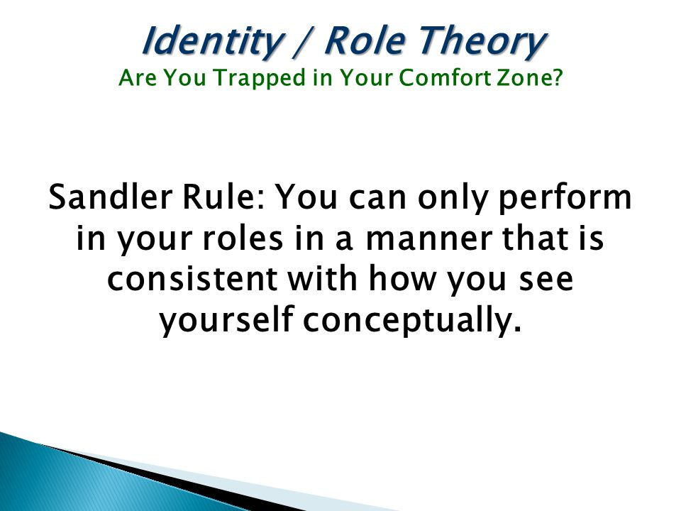 Are You Trapped in Your Comfort Zone