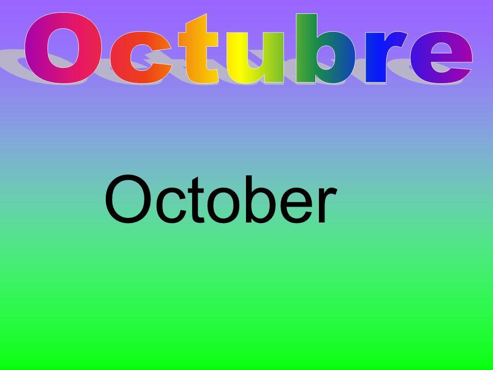 Octubre October