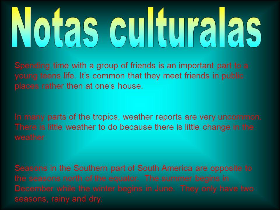 Notas culturalas