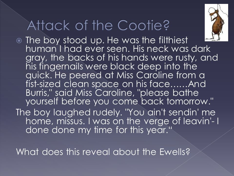 Attack of the Cootie