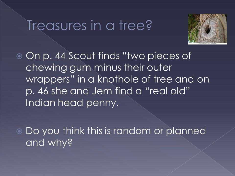 Treasures in a tree