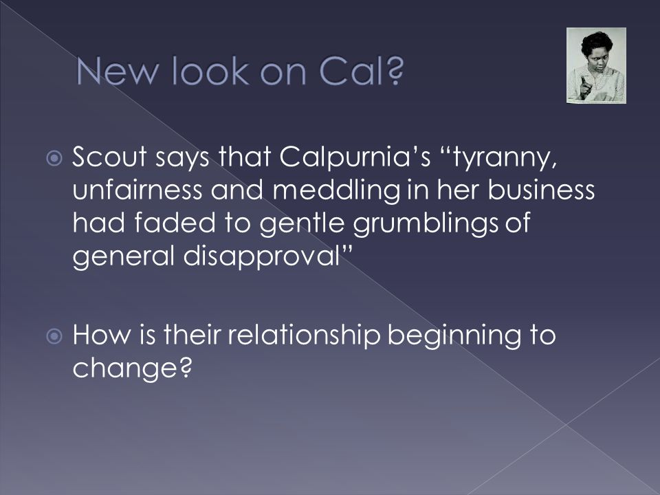 New look on Cal