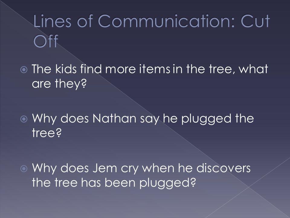 Lines of Communication: Cut Off
