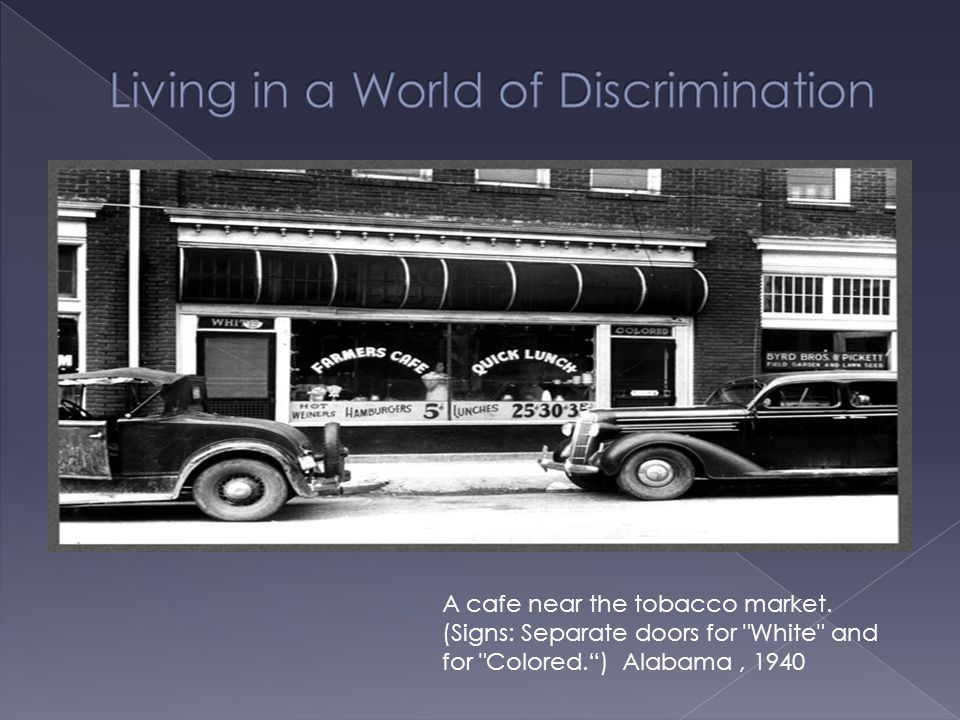 Living in a World of Discrimination