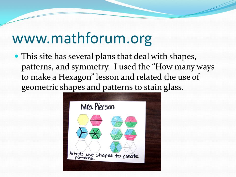 www.mathforum.org