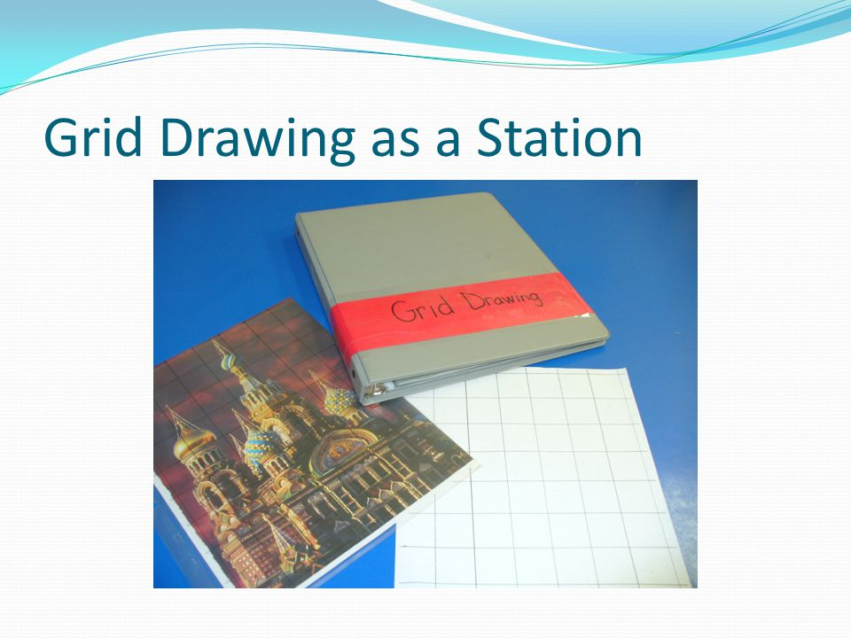 Grid Drawing as a Station