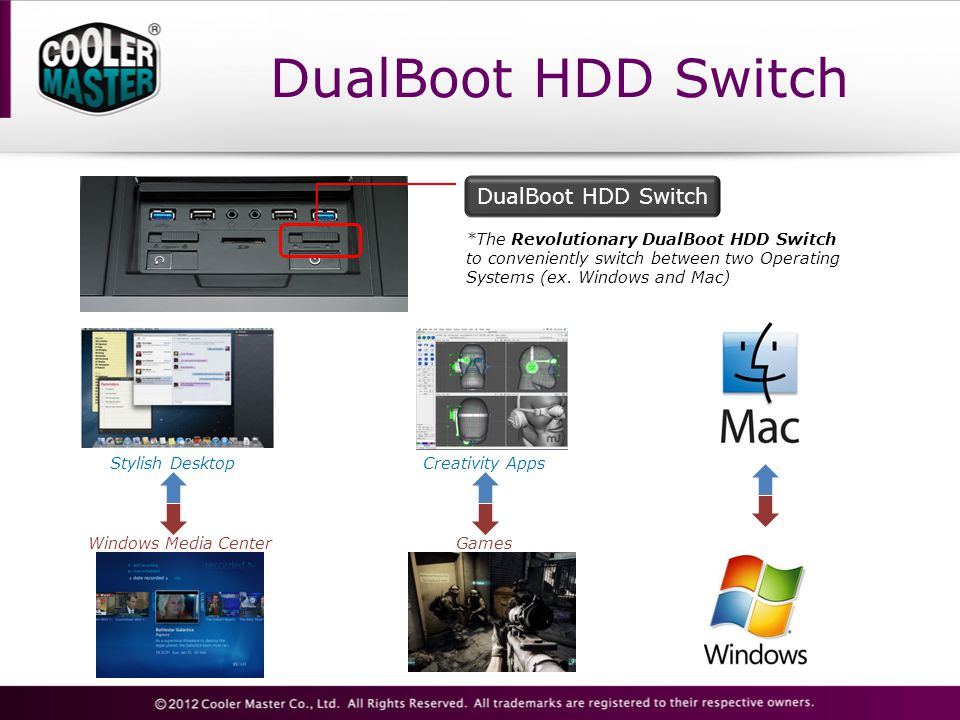 DualBoot HDD Switch DualBoot HDD Switch