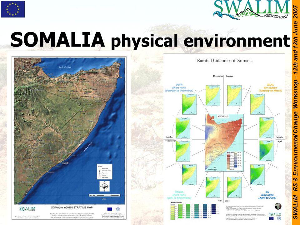 SOMALIA physical environment
