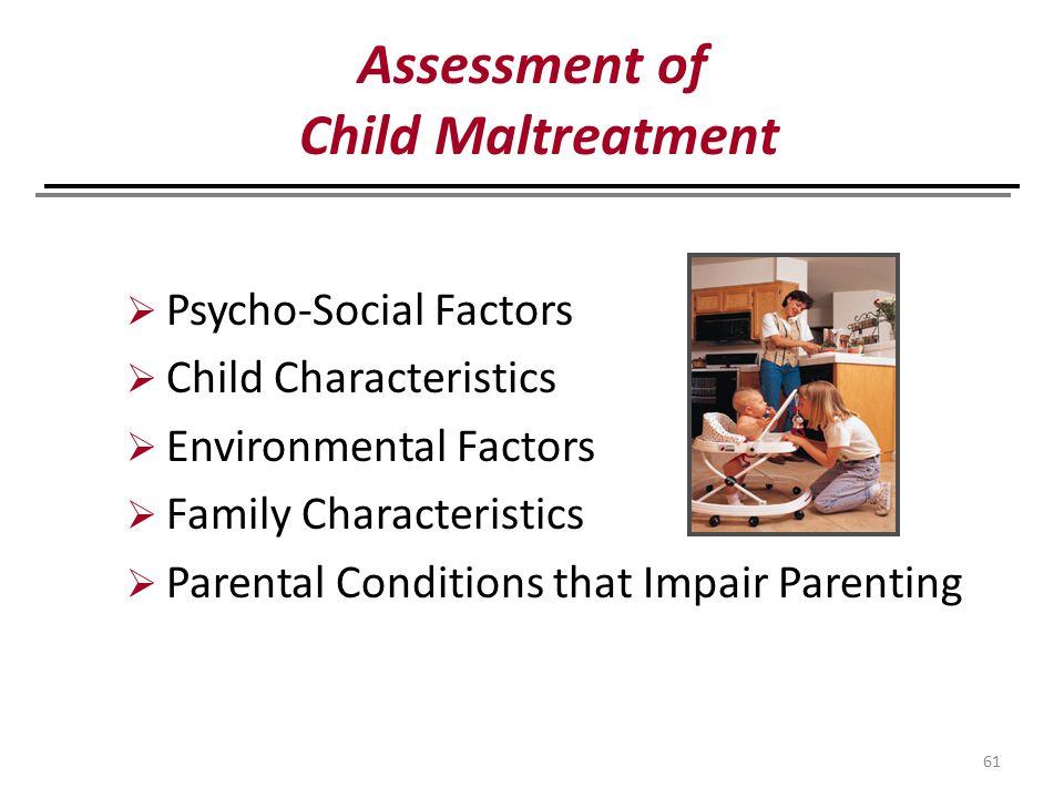 Assessment of Child Maltreatment