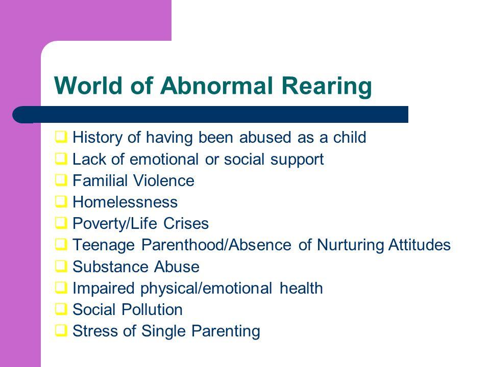 World of Abnormal Rearing