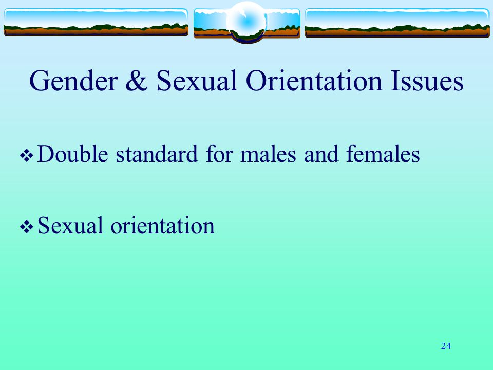Gender & Sexual Orientation Issues