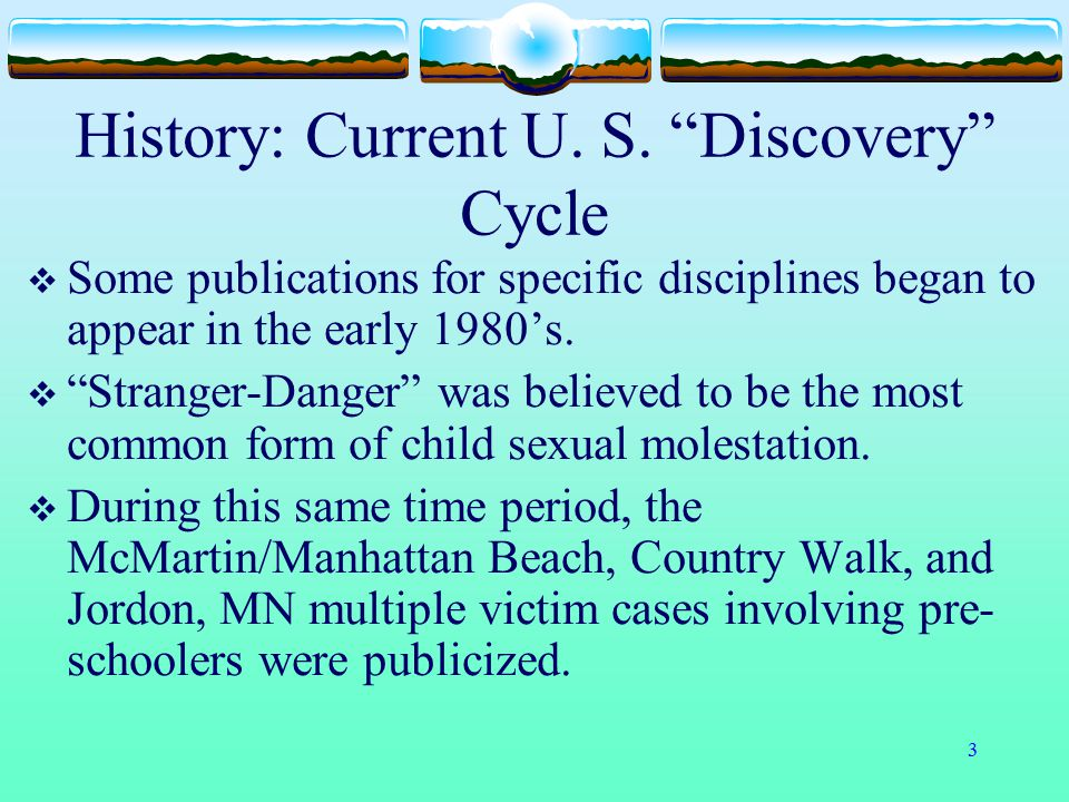 History: Current U. S. Discovery Cycle